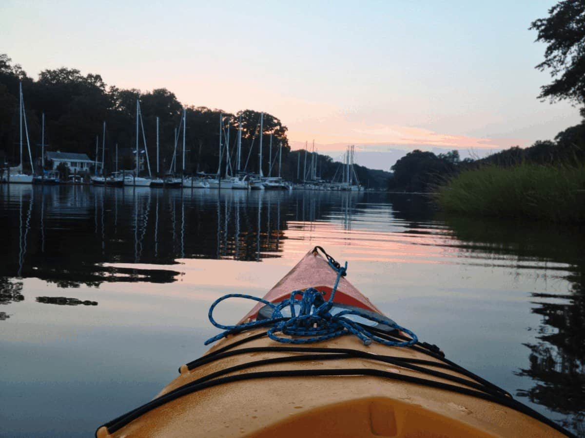 best places to kayak in annapolis