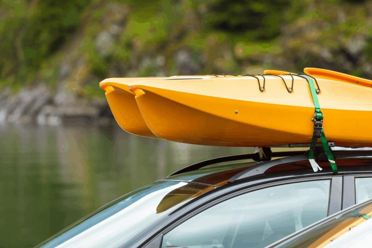 How To Load A Kayak On A J Rack By Yourself