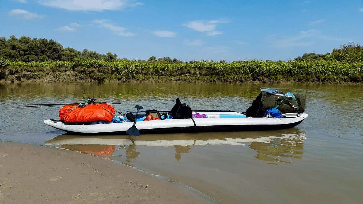 how much a kayak can hold