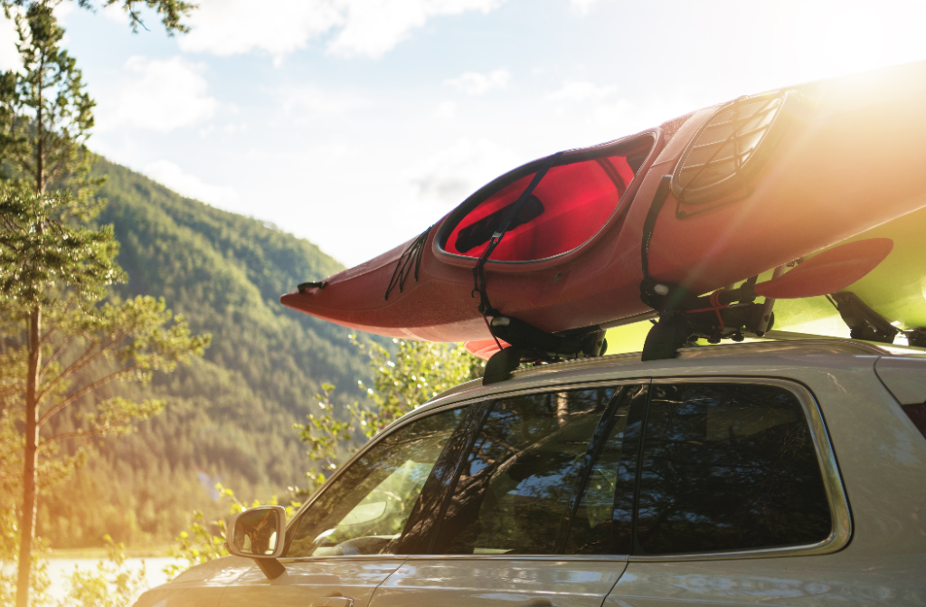 Swiss Cargo Folding Kayak Carrier